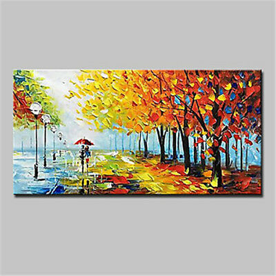 New Large Pure Hand Painted Oil Painting Wall Abstract Home Decor Art On Canvas