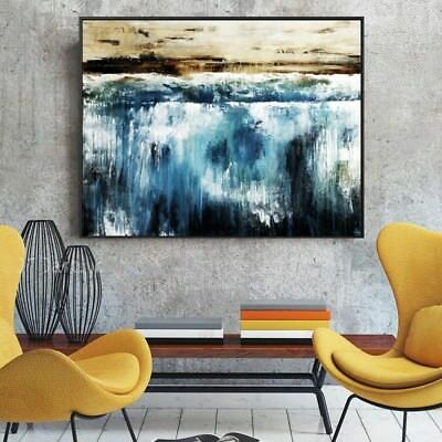 Modern 100% Hand Painted Abstract Art Oil Painting Home Decor Wall Canvas Gifts