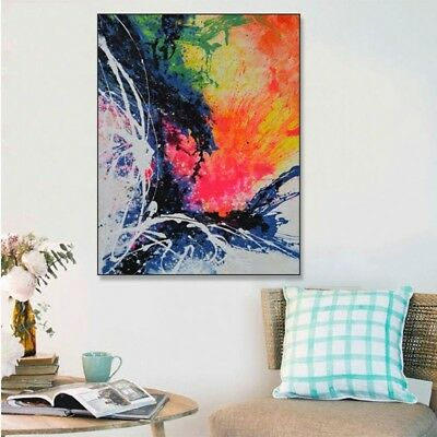Modern Abstract Hand Painted Oil Painting Fashion Art Home Decor Wall On Canvas