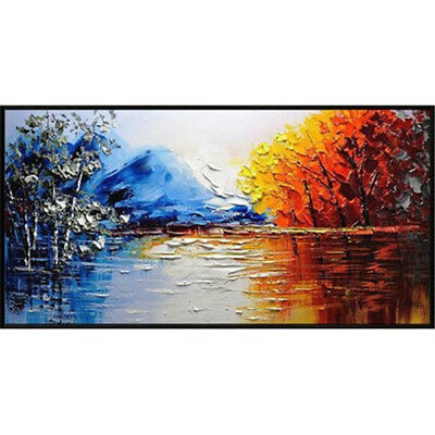 Abstract Modern Home Canvas Art Pure Hand Painted Oil Painting Scenery