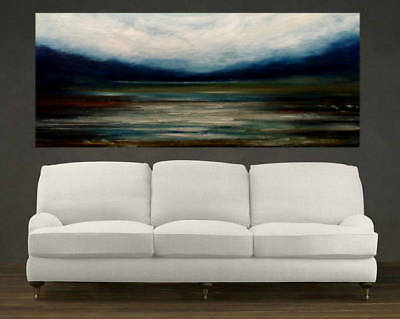 Huge Modern Home Decor Art Canvas Abstract Landscape Hand Painted Oil Painting