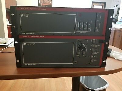 Dolby CP65 And DA20 Combo Digital Analog 35MM film Processor