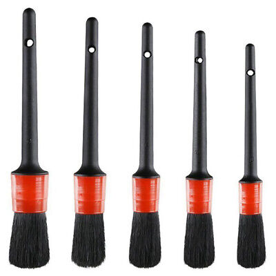 Car Detail Brush Set Interior Dashboard Air Vent Crevice Wheels Cleaning Tool
