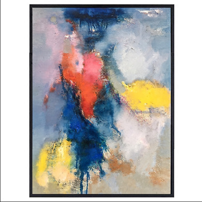 Modern Simple Abstract Hand Painted Oil Painting Fashion Home Decor Art Canvas
