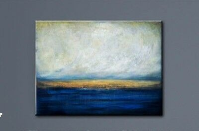 Modern Abstract Scenery Hand Painted Oil Painting Living Room Decor Art Canvas