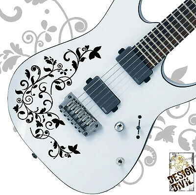 Pro Design Vine of Life Decal Sticker Fits All Guitars Basses 24 Colour Options