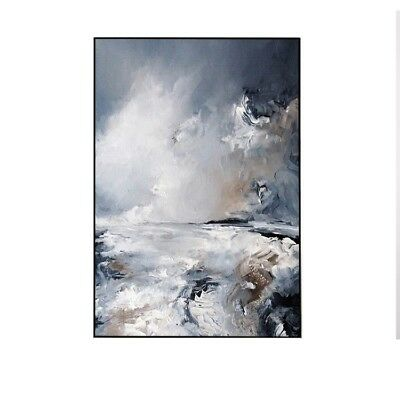 Modern Abstract Art Home Decor Wall 100% Hand Painted Oil Painting Canvas Gifts