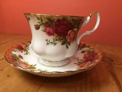 Royal Albert Old Country Rose Tea Cup and Saucer 2nd