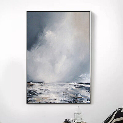Modern Home Decor Art 100% Hand Painted Abstract Oil Painting Canvas Wall Gifts