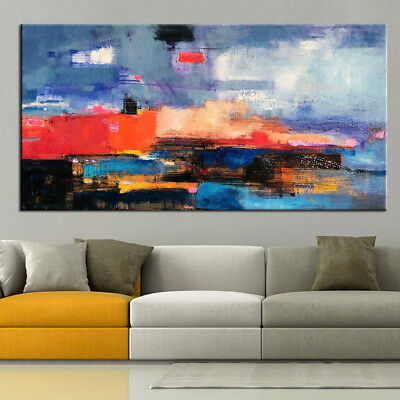 Huge Fashion Home Decor Art Canvas Wall Hand Painted Abstract Oil Painting Gifts