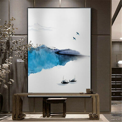 Modern Home Decor Abstract Landscape Hand-Painting Oil Painting Canvas Art Wall