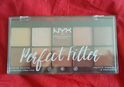 NYX PERFECT FILTER Eye Shadow Palette  OLIVE YOU - PFSP03