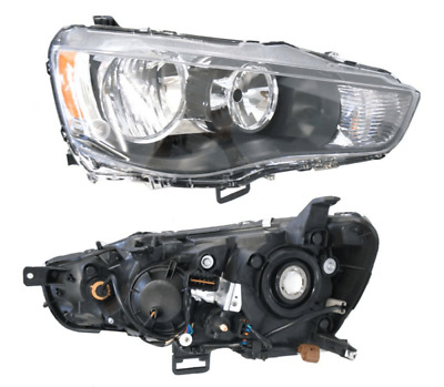 # Right Black Headlight For Mitsubishi Outlander (Zh) 2009-2012