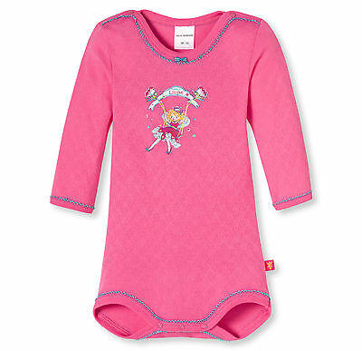 Schiesser Baby Bodysuit Long Sleeved Princess Lillifee 68 74 80 86 92 98 104