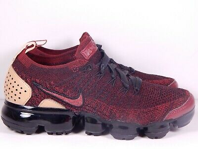 Nike Air Vapormax Flyknit 2 NRG Team Red Black AT8955-600 Size 5.5 Women's 7