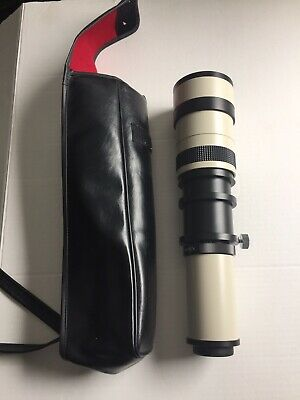 Quantaray 600 - 1000 mm 1:9.9 - 16 Zoom Lens w/Carrying Case