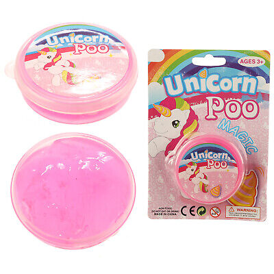 Fun Kids Childrens Boys Girls Unicorn Poo Slime Christmas Birthday PRESENT GIFT