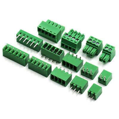 10×3.5mm PCB Pluggable Terminal Block Screw Connector 2P-16P 90 Angle/Straight