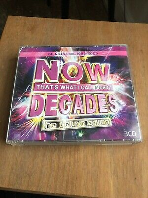 Various Artists - Now That's What I Call Music! - Decades - UK CD album 2003