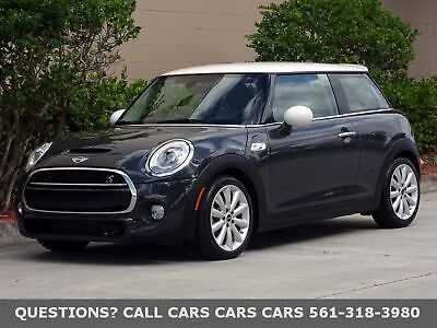 2015 MINI Hardtop 2 Door HARDTOP-ONLY 7900 MILES-FACTORY WARRANTY-2016 2017 FLORIDA IMMACULATE-1-OWNER-NAV-HD-BLUETOOTH-STEPTRONIC-LEATHER-LOADED-NONE NICER