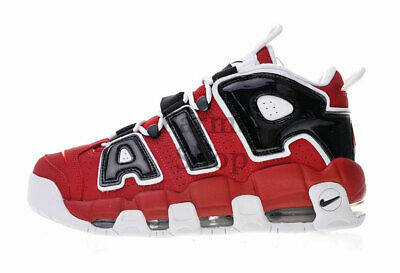 dfc77502267 Nike Air More Uptempo Basketball Red And Black For Men And Women 415082-600