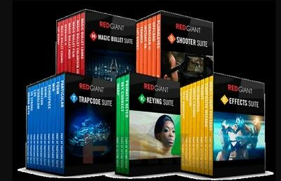 RED GIANT COMPLETE  BUNDLE SUITE 2018 (Windows)