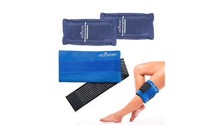 Flexible Gel Ice Pack & Wrap for Hot and Cold Compression Therapy - Adjustable