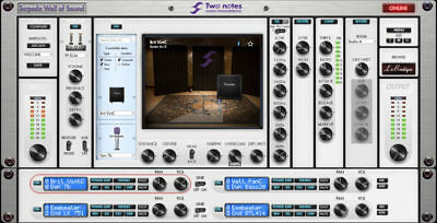 TWO NOTES Audio Engineering - Torpedo Wall of Sound w/ 8 Cabs Pack (VST/AAX/AU)