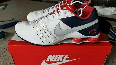 a69c0961444 2012 RARE NIKE SHOX DELIVER. Red White Blue Men s Sz 13 IN GOOD ...