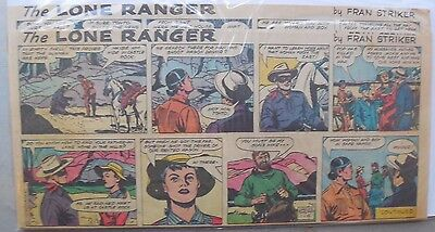 (21) Lone Ranger Sunday Pages by Fran Striker and Charles Flanders from 1959