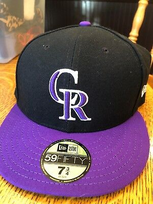 new style 20fe3 f4365 ... wholesale new era colorado rockies alt 59fifty fitted hat black purple mlb  cap bf7dd bc018