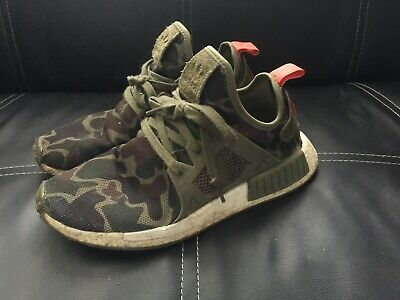 9d6be03fa Adidas Nmd Xr1 Nomad Boost Duck Camo Green Olive Cargo Ba7232 Mens Size 8