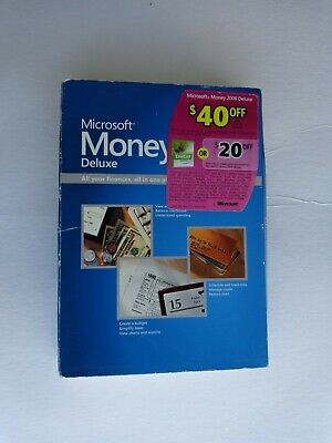 Microsoft Money 2006 Deluxe (Retail) - Full Version for Windows