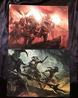 """Two Elder Scrolls Online Posters 16"""" x 12"""" Collectible Posters Skyrim"""