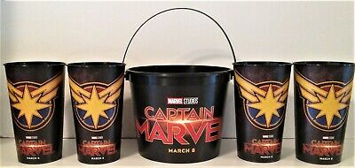 Marvel Comics: Captain Marvel 2019 Movie Theater Exclusive 170/44 oz Family Pack
