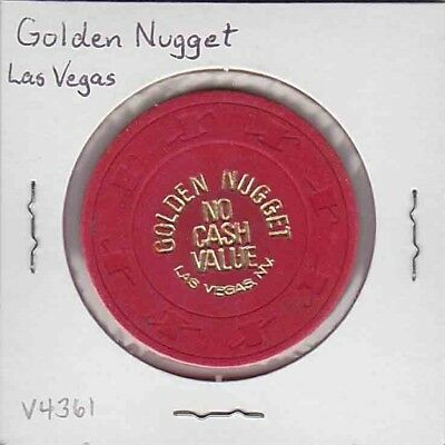 Vintage NCV chip from the Golden Nugget Casino (1980s) Las Vegas
