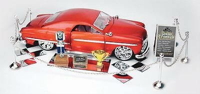 Diorama Car Show Display Accessory Boxed Set Scale 1/24 Plastic