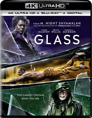 Glass NEW 4K UHD + Blu-ray + Digital - James McAvoy - PRE ORDER for 4/16/19!