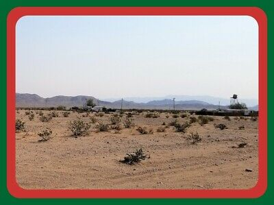 Corner Lot~2.5 Ac~Close To Usmc Base~29 Palms California~$175 A Month