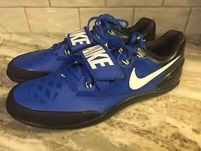 6dd74df8265 NEW NIKE ZOOM Rotational 6 Throw Shoes Shot Put Discus Sz 10.5 685131 413