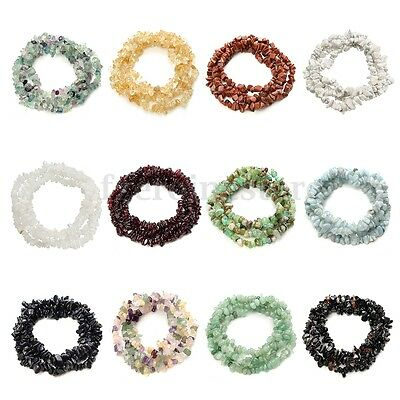 Natural 4*7mm Freeform Chips Jewelry Making Loose Gemstone Beads Strand 36'' A !