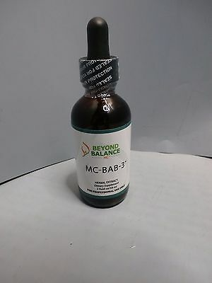 New Beyond Balance Natural Herbal Extract MC-BAB-3  2.0 oz dropper bottle
