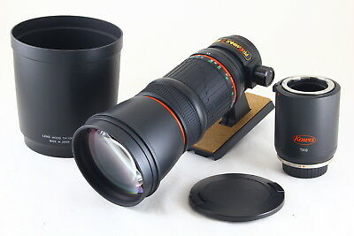 [AB Exc+] KOWA PROMINAR 500mm f/5.6 FL Lens for Nikon F w/TX10 From JAPAN 5310
