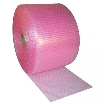 Small 3/16-inch Pink Anti-static Bubble Cushioning Wrap Roll, 175-foot By...