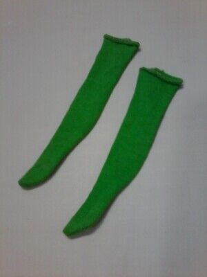 Vintage Francie The Combination Long Green Socks #1234 MT!
