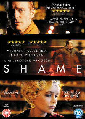 Shame NEW PAL Arthouse DVD Steve McQueen Michael Fassbender Carey Mulligan