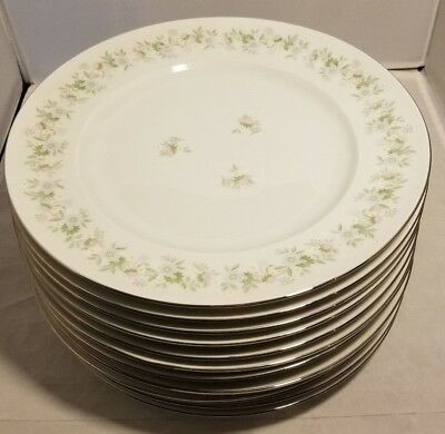 "Forever Spring by Johann Haviland Bavaria Germany Fine China 10"" Dinner Plate"