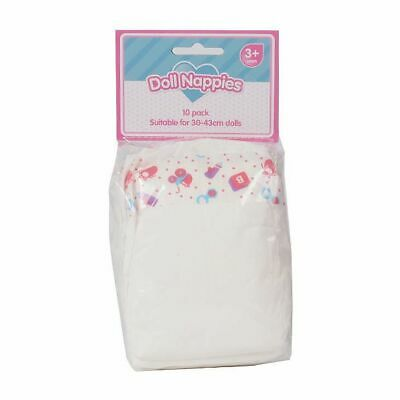NEW Doll Nappies 10 Pack