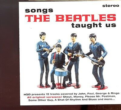 Mojo Magazine CD / November 2015 - Songs The Beatles Taught Us - MINT