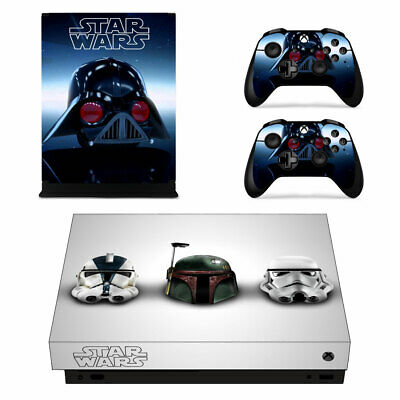 Faceplates, Decals & Stickers Reliable Xbox One X Darth Vader Skin Sticker Console Decal Vinyl Xbox Controller